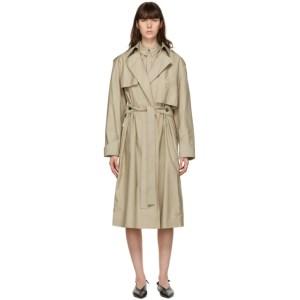 GAUCHERE Beige Sheila Trench Coat