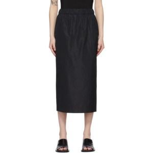 GAUCHERE Black Sita Skirt