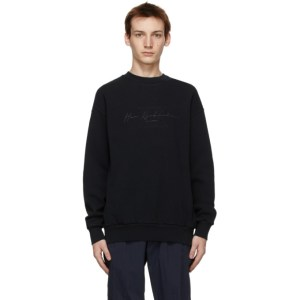 Han Kjobenhavn Black Artwork Sweatshirt