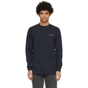 Han Kjobenhavn Navy Casual Long Sleeve T-Shirt