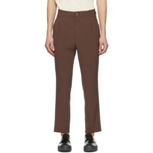 Nanushka Brown Tom Cady Trousers
