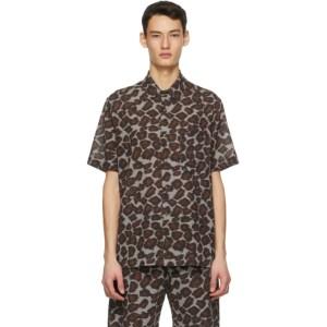 Nanushka Brown Adam Shirt