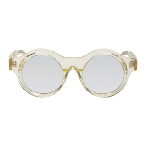 Kuboraum Yellow A1 Sunglasses