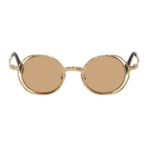 Kuboraum Gold H11 Sunglasses