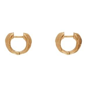 Emanuele Bicocchi Gold Wing Earrings