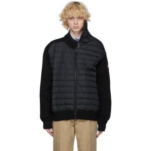 Y/Project Black Canada Goose Edition Down Hybridge Jacket