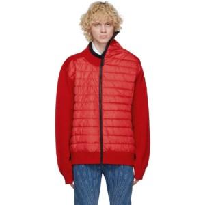 Y/Project Red Canada Goose Edition Down Hybridge Jacket