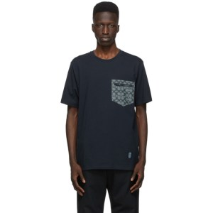 Coach 1941 Navy Signature Essential T-Shirt