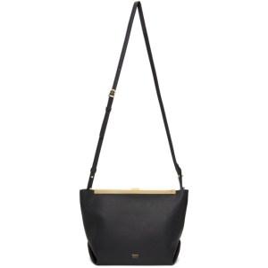 Khaite Black The Augusta Crossbody Bag
