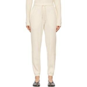 Baserange Off-White Sweat Lounge Pants