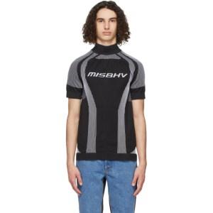MISBHV Black Active Sport Short Sleeve Turtleneck