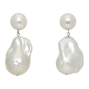 Sophie Buhai White Essential Pearl Earrings