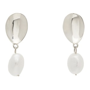 Sophie Buhai Silver Pearl Everyday Drop Earrings