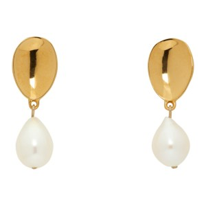 Sophie Buhai Gold Pearl Everyday Drop Earrings