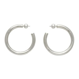 Sophie Buhai Silver Medium Everyday Hoop Earrings