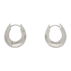 Sophie Buhai Silver Hinged Hoop Earrings