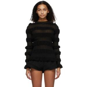Molly Goddard Black Gigi Sweater