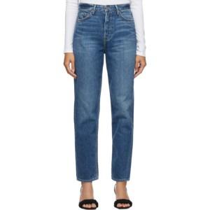 Grlfrnd Blue Devon Slim Jeans