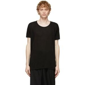 Jan-Jan Van Essche Black Regular Fit 66 T-Shirt