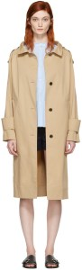 KUHO - Beige Funis Trench Coat