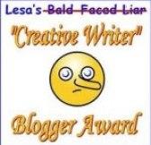 Creative Writer Award