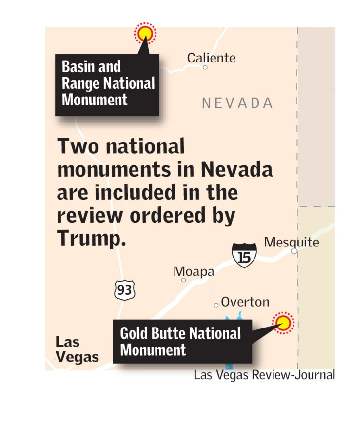 Nevada's national monuments under review (Las Vegas Review-Journal)