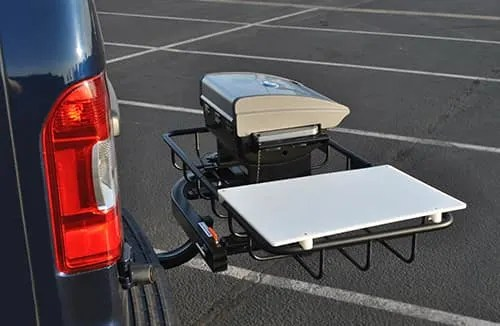 hitch cargo boxes carriers
