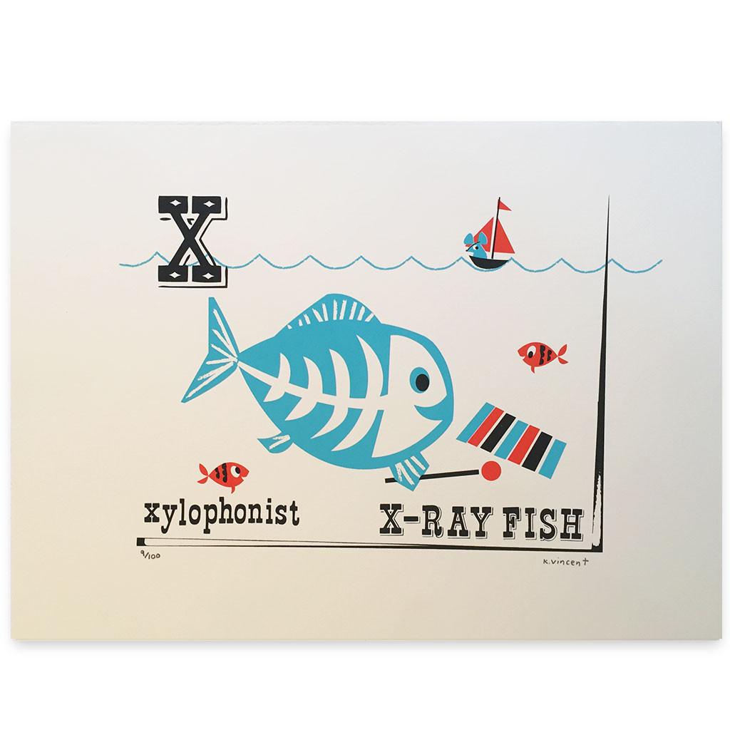 Trouva Kay Vincent X Ray Fish Print