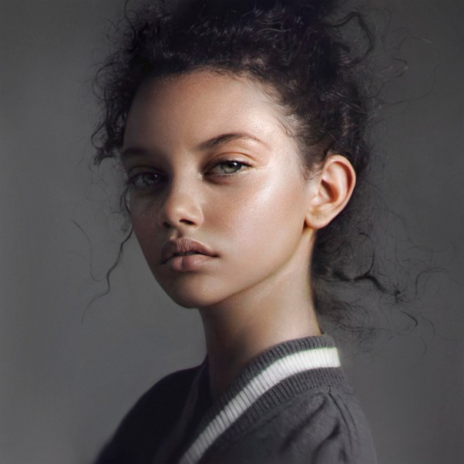 10 Absolutely Stunning Digital Portraits by Irakli Nadar - Digital Art Mix