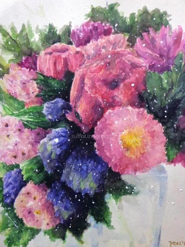 2016 03 first floral arrangement