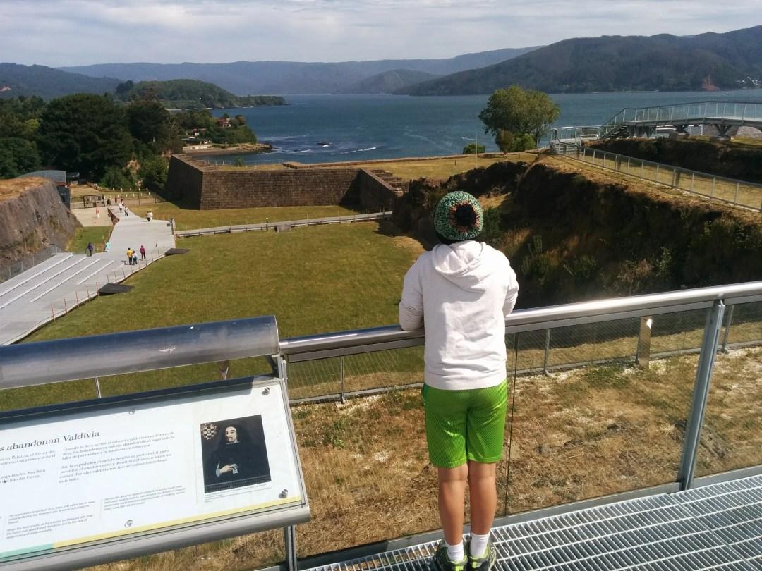 vantage point overlooking fort