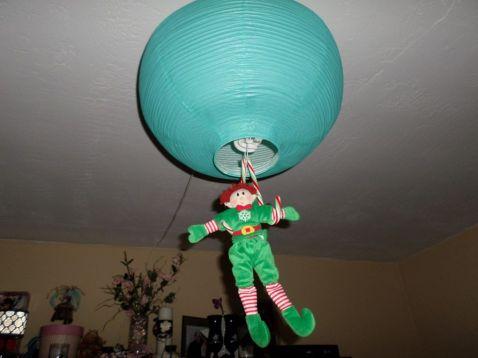 Is that a lantern or a balloon?