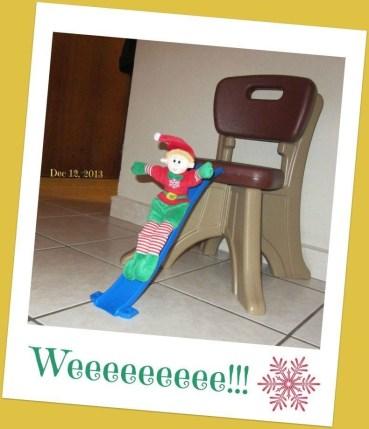 Elf sliding board