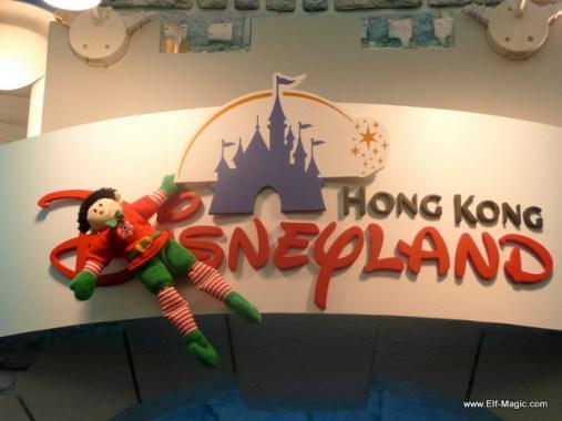 Elf in Hong Kong at Disneyland