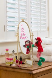 Sweet message written on the mirror