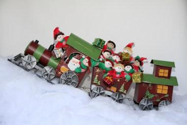 Elves on a train