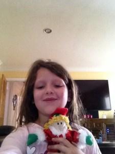 A happy elf selfie