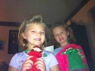 Cute girls elf selfie