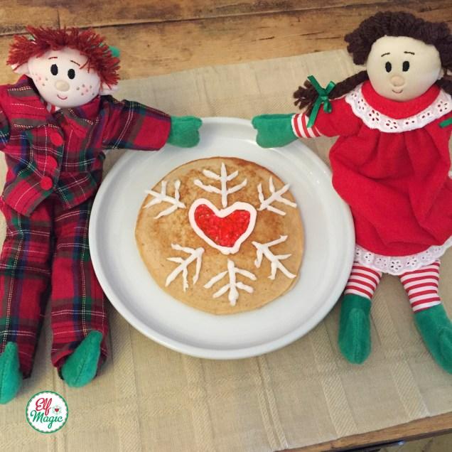 Elf Magic pancakes