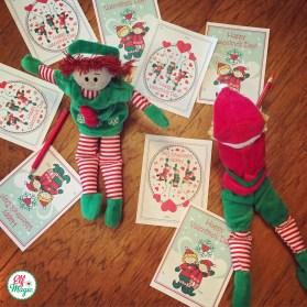 Elf Magic Valentines Cards