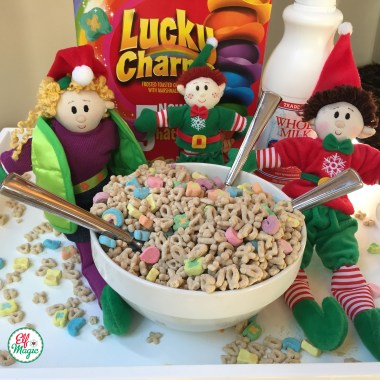 Elves love cereal, expecially with marshmallows
