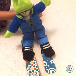 Elf Magic Arctic Play Snowboard craft