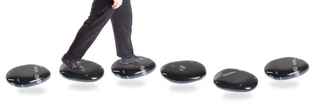 Stepping stones to success header image