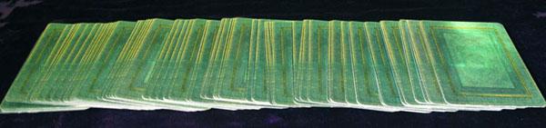 tarot card shuffle linear draw