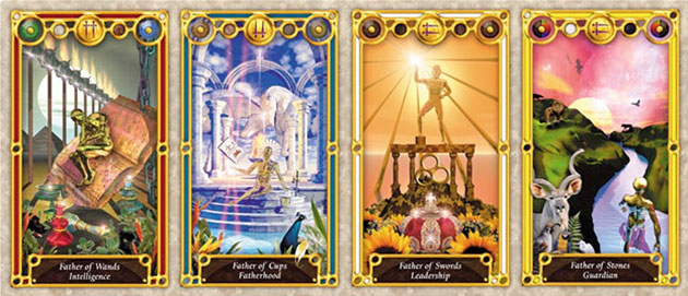 tarot court cards kings