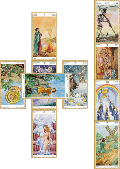 celtic cross tarot spread looking deeper