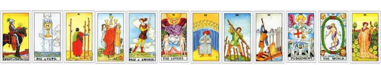 Tarot Card Counting Layout