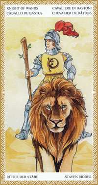 lo scarabeo tarot knight of wands