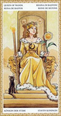 lo scarabeo tarot queen of wands