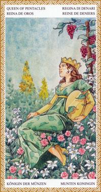 lo-scarabeo-tarot-pentacles-queen